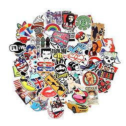 8 Series Stickers 100 pcs/Pack Stickers Variety Vinyl Car St