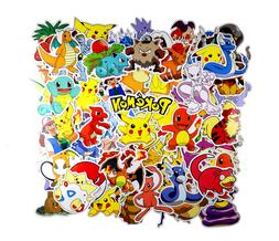 80pc POKEMON GO Pikachu Cartoon Stickers Laptop Sticker Lugg