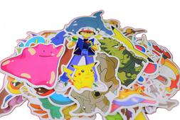 80pc POKEMON Pikachu Cartoon Stickers Skateboard Laptop Lugg