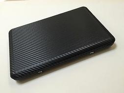 Black Carbon Fiber Laptop Skin Notebook Decal Vinyl Sticker