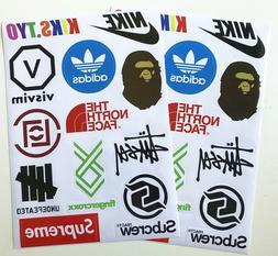 Buy 1 get 1 Free Brands Supreme BAPE Sneaker Logo Skateboard