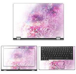 """Decalrus - Protective Decal Skin Sticker for Lenovo Yoga 2 """""""