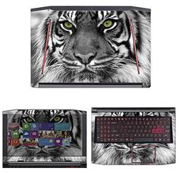 Decalrus - Protective Decal Tiger Skin Sticker for Acer Pred