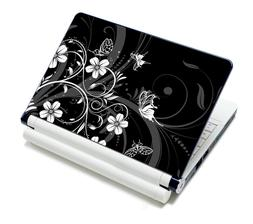"Flower Sticker Decal laptop Skin For 11.6""-15.6"" Sony Dell"