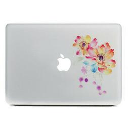Flowers Viny Sticker Decal Laptop,lenovo,Surface Pro,ipad,Ma
