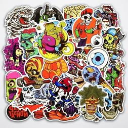 Funny HORROR Stickers Skateboard Sticker bomb Vinyl Laptop L