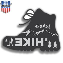 Go Take A Hike exercise travel Sticker Decal Phone laptop Ca