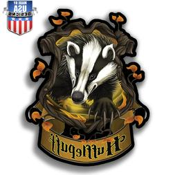 Hufflepuff Insignia Harry Potter vinyl Sticker Decal phone l