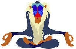Lion King Monkey Sticker Decal Phone laptop car window Disne