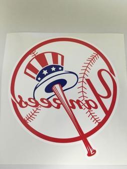 MLB New York Yankees Vinyl Bumper Sticker Decal Car Truck La