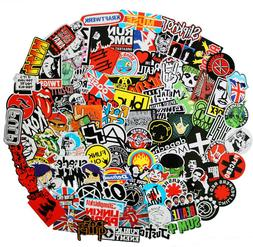 NAVAdeal 57pcs Assorted Rock Punk Music Band Vinyl Laptop St