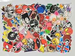 Pack of 50 Random Skateboard Notebook Laptop Vinyl Glossy St