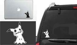 Pokemon Mimikyu Vinyl Decal Window Laptop Sticker die-cut