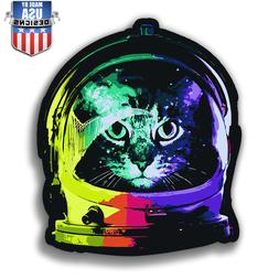 Rainbow Space Cat astronaut Sticker Decal Phone Cool laptop