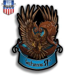 Ravenclaw Insignia Harry Potter vinyl Sticker Decal phone la