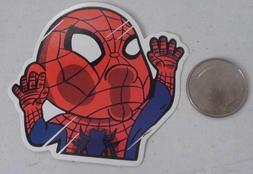 Spiderman sticker marvel comics funny skate cell laptop bump