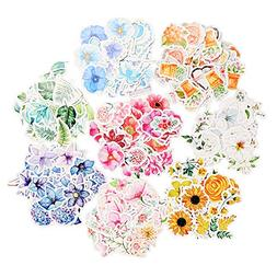 Stickers Flower Series Decals Personalize 360pcs Laptops Car