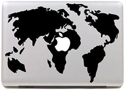 Vati Leaves Removable World Map Cool Design Best Vinyl Decal
