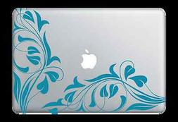 vine design decal sticker for apple mac