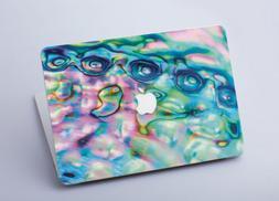 Abalone Shell Vinyl Macbook Pro 15 Inch Sticker Laptop Cover