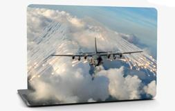 AC-130 Gunship Airplane Vinyl Laptop Computer Skin Sticker D
