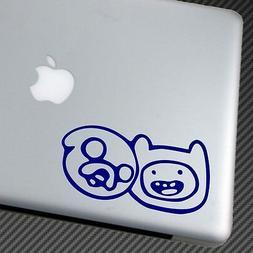 Adventure Time VINYL STICKER CAR DECAL JAKE FINN laptop shir