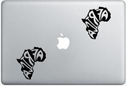Africa Map Continent ArcDecals78600054 Set Of Two  , Decal ,