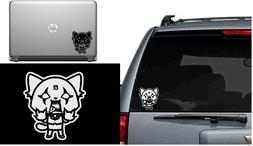 Aggretsuko Retsuko Vinyl Decal Window Laptop Sticker