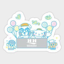 Sanrio Lazy Egg Gudetama Pokemon Snorlax Vinyl Decal Sticker Laptop Car Bumper