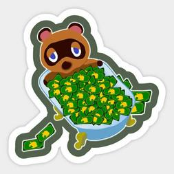 Animal Crossing The Nooks Nooklings Characters Vinyl Decal S