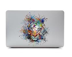 iCasso Removable Vinyl Decal Sticker Skin for Apple MacBook