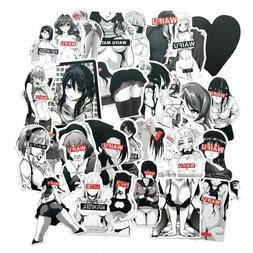 Anime Waifu Stickers Sexy Girls Bunny Oppai Laptop Car Hot V