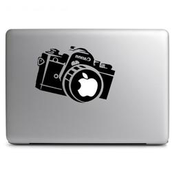 Apple Camera Canon Vinyl Decal Sticker for Macbook Air Pro 1