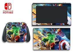 Avengers Hulk Captain America Thor Iron Man Video Game Vinyl
