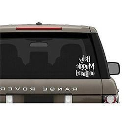 Baby Muggle On Board Decal Vinyl Sticker|Cars Trucks Vans Wa
