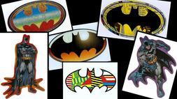 BATMAN LOGO LAPTOP STICKER DECAL~DC COMICS SUPERHERO~BOGO 40