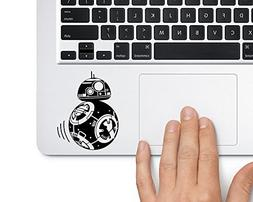 BB-8 Moving Star Wars Droid BB8 - Trackpad Apple Macbook Lap