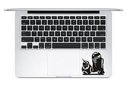 BB-8 And R2-D2 Star Wars Trackpad Apple Macbook Laptop Decal