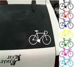 Bicycle Decal Car Window Bike Helmet Sports Athletic Laptop