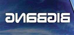 "Big Bang 8"" K-Pop Rock Band Logo Decal Sticker for Cars Lapt"