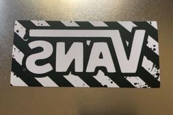 Black And White Vans Skateboard Guitar Laptop Decal/ sticker