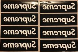 black supreme box logo red sticker vinyl pack lot set of 8 s
