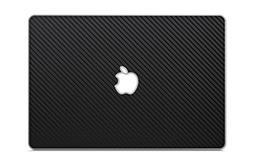 """iCarbons Black Carbon Fiber Vinyl Skin for MacBook Pro 15"""" R"""