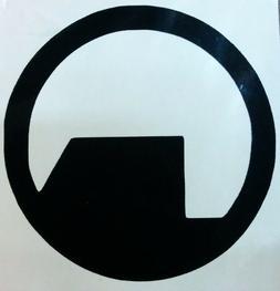 black mesa logo vinyl sticker decal home