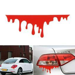Blood Drip Red PVC Vinyl Decal, Bumper Sticker, Car Window,