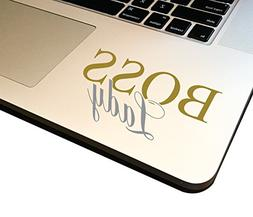 "Boss Lady 4"" Decal _ Vinyl motivational STICKER for laptop j"
