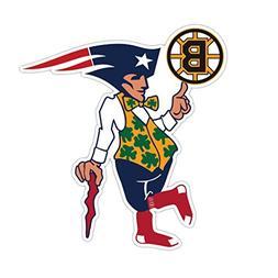 Boston Fan Sport Flag Logo CreativeStickers0121 Set Of Two