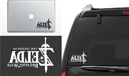 Zelda Breath of the Wild Vinyl Decal Window Laptop Sticker d