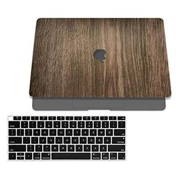 SOJITEK Brown Wood Design Texture Skin Decal Sticker for 201