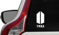 BTS Army NEW Logo Text ARMY Car Die Cut Vinyl Decal Bumper S